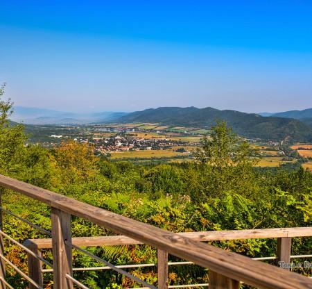 Панорама над Правешкото поле -  Това е България