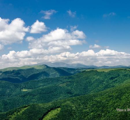 Панорама от Централен Балкан -  Това е България