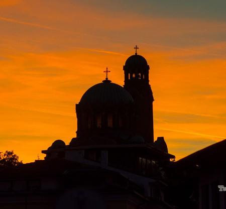 Велико Търново – залез -  Това е България