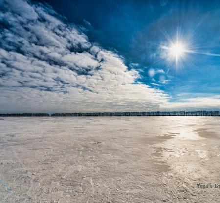 Зимно поле край село Дъбовик -  Това е България
