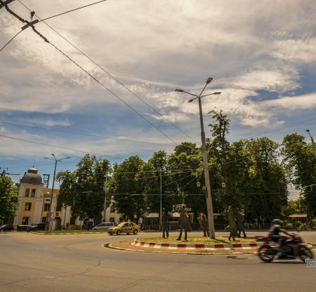 Кръстовище във Варна -  Това е България