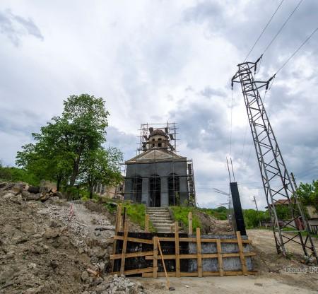 Строеж на нов храм в село Ябълчево -  Това е България