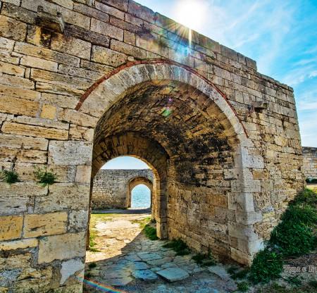 Крайдунавски крепостни стени, Видин -  Това е България