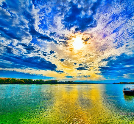 Залез над Дунав край Видин -  Това е България