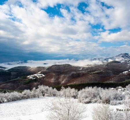 Зима край село Рибново -  Това е България