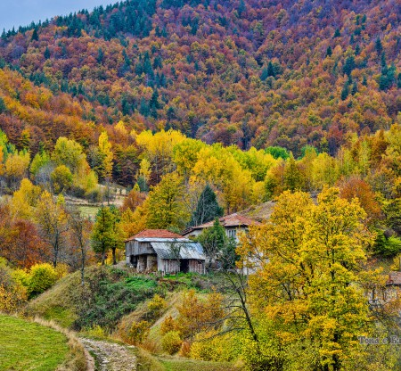 Родопски пейзаж -  Това е България