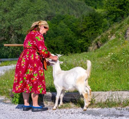Родопска баба с козичка – село Тикале -  Това е България