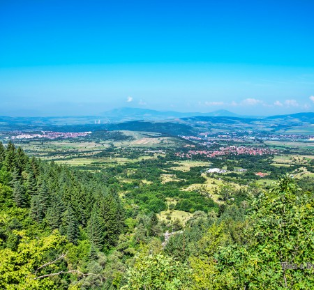 Панорама към Разметаница -  Това е България
