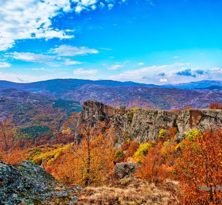 Панорама на Влахина планина -  Това е България