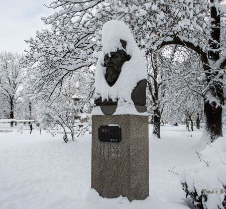 Бюст на Антим Първи -  Това е България