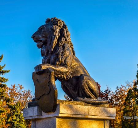 Лъвът от Войнишкия мемориал пред НДК -  Това е България