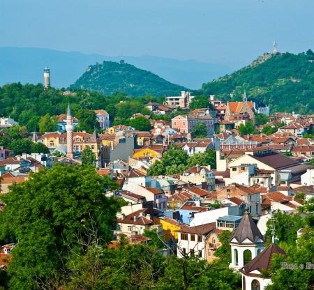 Панорама на Пловдив -  Това е България