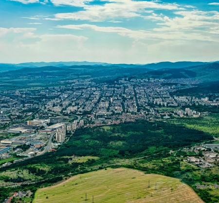 Панорама на Стара Загора -  Това е България